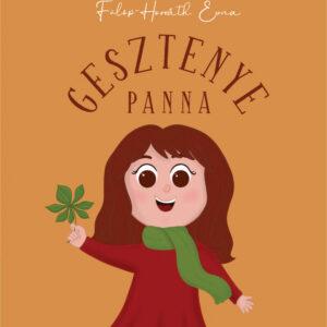 Gesztenye Panna verseskönyv borító